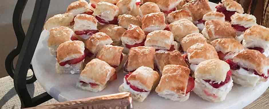 Strawberry Shortcake Sandwiches