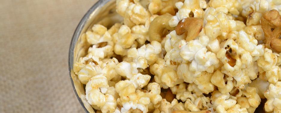 Spicy Maple Popcorn